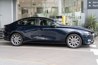 2021 Mazda 3 BP G25 Evolve Sedan Sedan Image 3