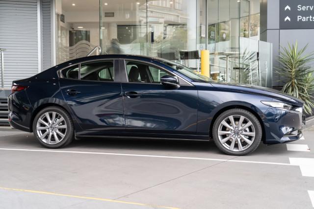 2021 Mazda 3 BP G25 Evolve Sedan Sedan Mobile Image 3
