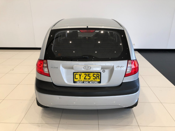 2010 Hyundai Getz TB Hatchback Image 5