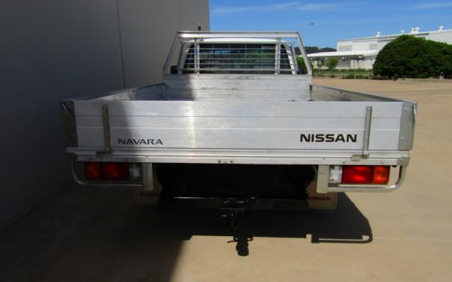 2009 MY08 Nissan Navara D22 MY2008 DX Cab chassis Image 4