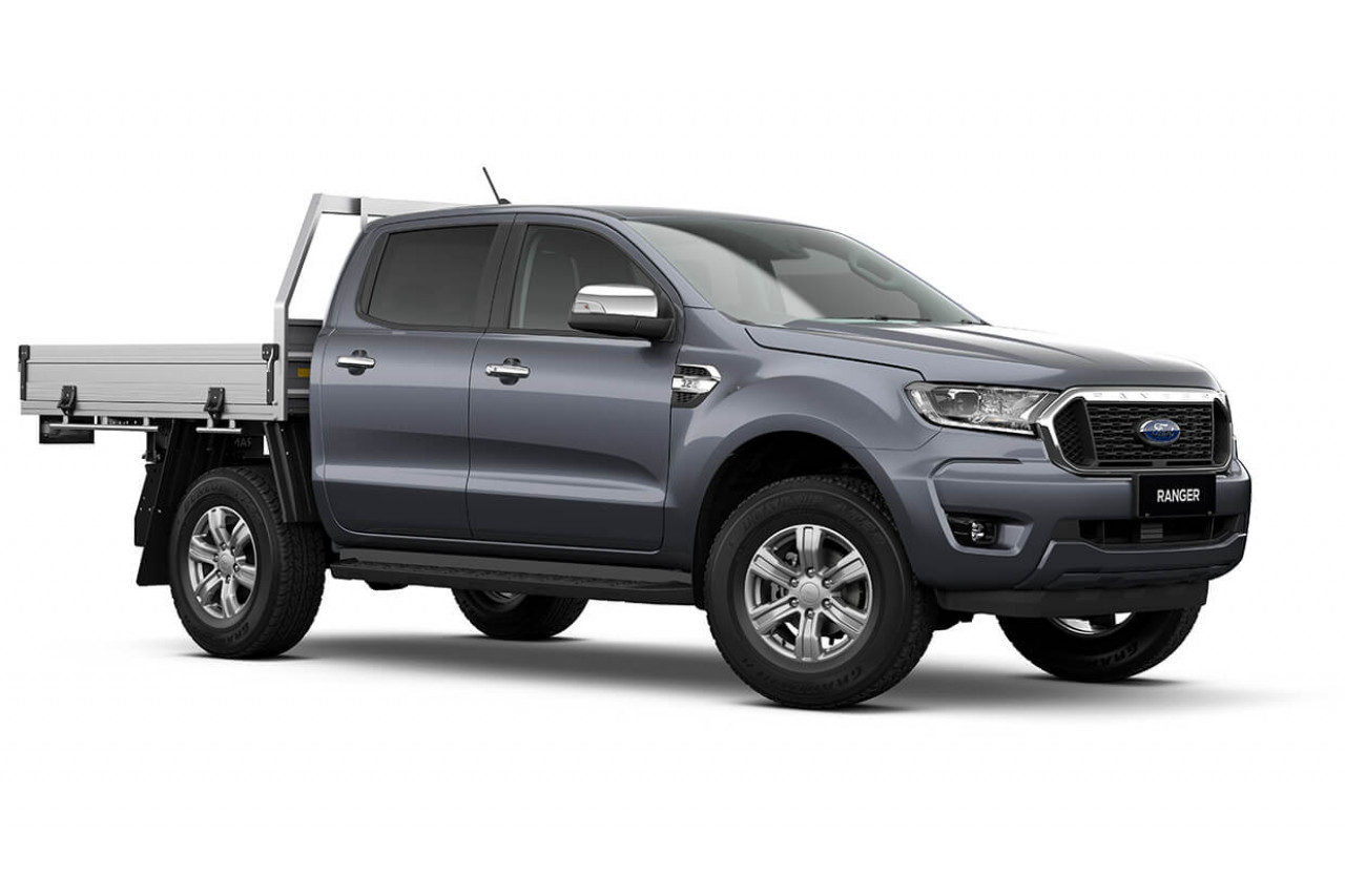 2021 MY21.75 Ford Ranger PX MkIII XLT Double Cab Chassis Utility