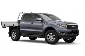 2021 MY21.75 Ford Ranger PX MkIII XLT Double Cab Chassis Utility Image 2