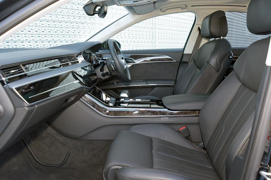 2018 Audi A8 4N MY18 50 TDI Sedan Mobile Image 9