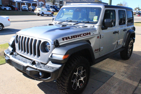 2020 MY0  Jeep Wrangler JL Rubicon Unlimited Hardtop Image 3