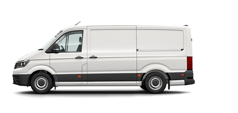 Crafter Van Medium Wheelbase 8 Speed Auto FWD
