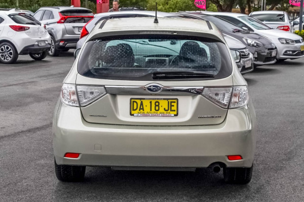 2009 Subaru Impreza G3 MY09 R Hatchback Image 5