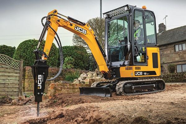 2021 JCB 19C-1 Mini Excavator (No Series) Image 3