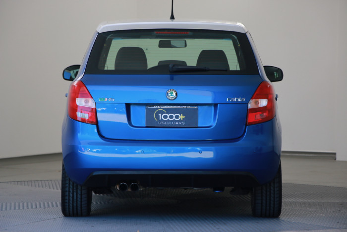 2012 Skoda Fabia 5JF MY12 RS Hatchback