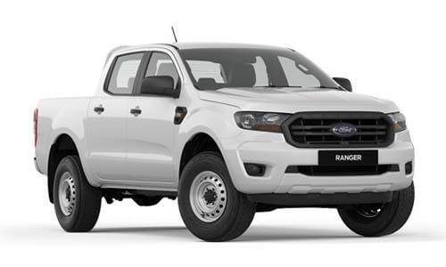 2019 Ford Ranger PX MkIII 4x4 XL Double Cab Pick-up Utility