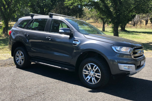 2017 Ford Everest UA Turbo Trend Suv