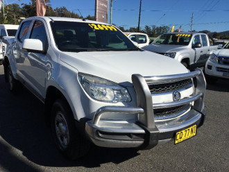2013 Holden Colorado RG Turbo LX 4x4 d/c h/cover