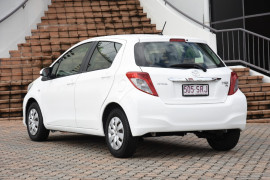 2012 Toyota Yaris NCP130R YR Hatchback Image 3