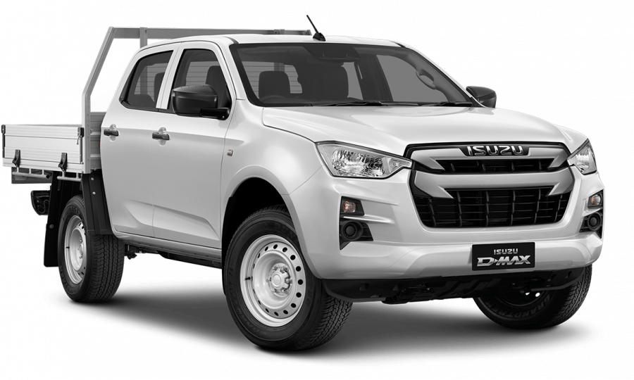 2020 MY21 Isuzu UTE D-MAX RG SX 4x2 Crew Cab Chassis Cab chassis Image 1