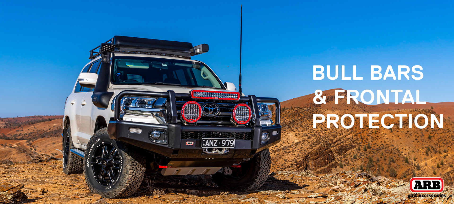 See our range of bull bars and nudge bars from ARB