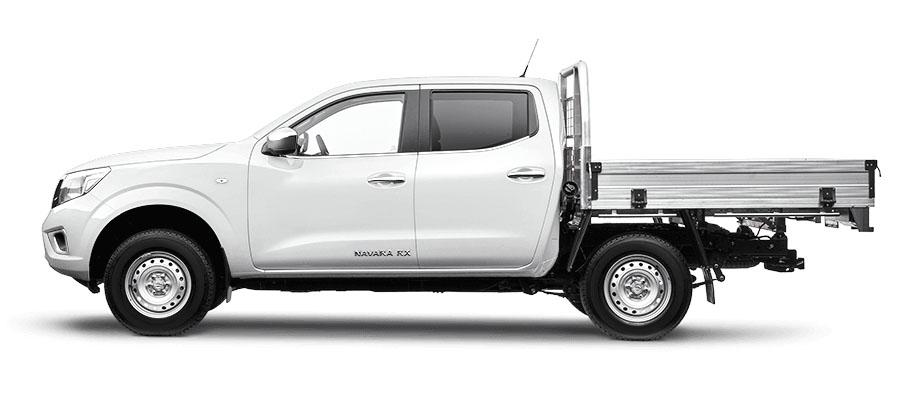 2020 Nissan Navara D23 Series 4 RX 4x4 Dual Cab Chassis Cab chassis