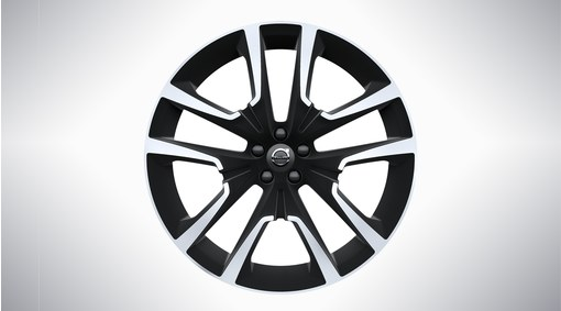 "22"" 5-Double Spoke Matt Black Diamond Cut - 800143"