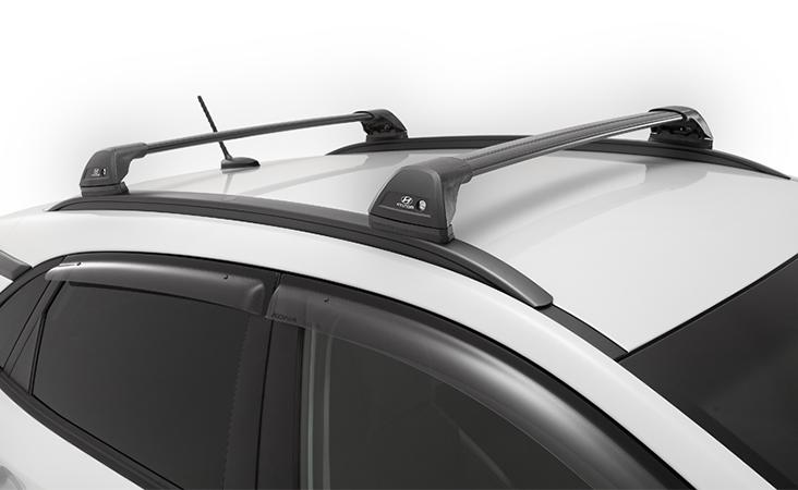 """<img src=""""Hyundai genuine roof racks - flush."""