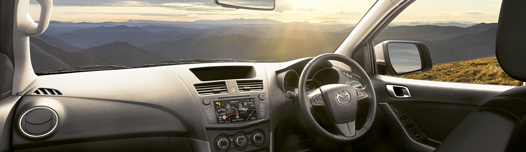 Interior of a Mazda CX-5