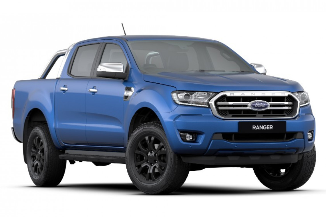 2018 MY19.00 Ford Ranger PX MkIII 4x4 XLT Double Cab Pick-up Utility