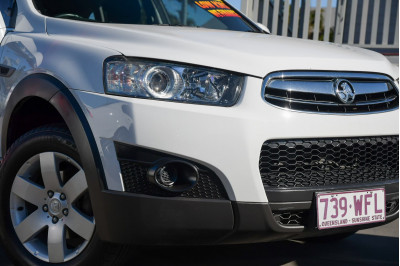 2013 MY12 Holden Captiva CG Series II 7 SX Suv Image 4