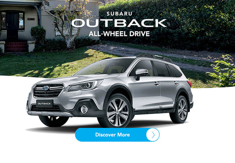 Subaru Outback. All-wheel drive. Discover more!