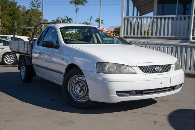 2005 Ford Falcon Ute BA Mk II XLS Cab chassis