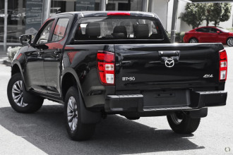 2021 Mazda BT-50 TF XT 4x4 Dual Cab Chassis Utility Image 5