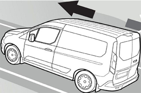 Transit Cab Chassis Hill Launch Assist