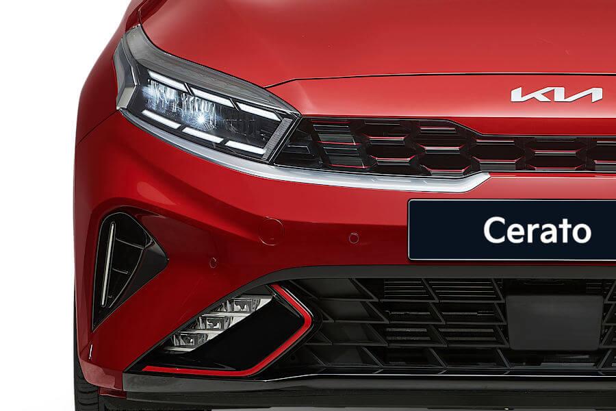 New Cerato Sedan Reinvigorated styling