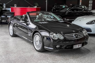 2002 MY03 Mercedes-Benz SL-Class R230 SL55 AMG Convertible Image 4