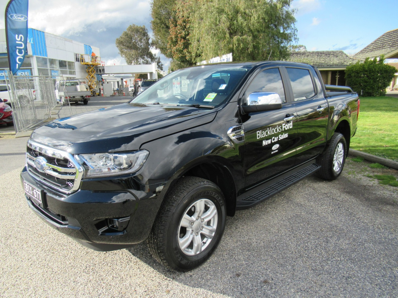 2020 MY20.25 Ford Ranger PX MkIII 4x4 XLT Double Cab Pick-up Utility Image 1