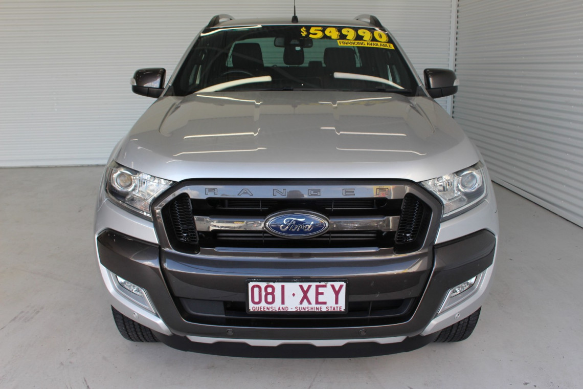2017 Ford Ranger PX MkII 4x4 Wildtrak Double Cab Pickup 3.2L Utility
