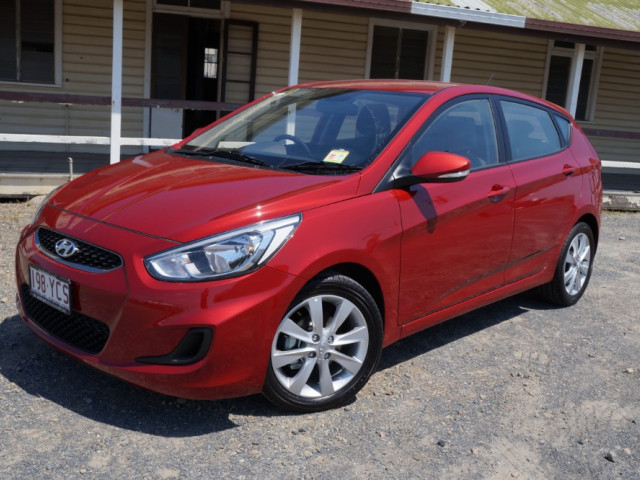 2018 Hyundai Accent RB6 Sport Hatch Hatchback