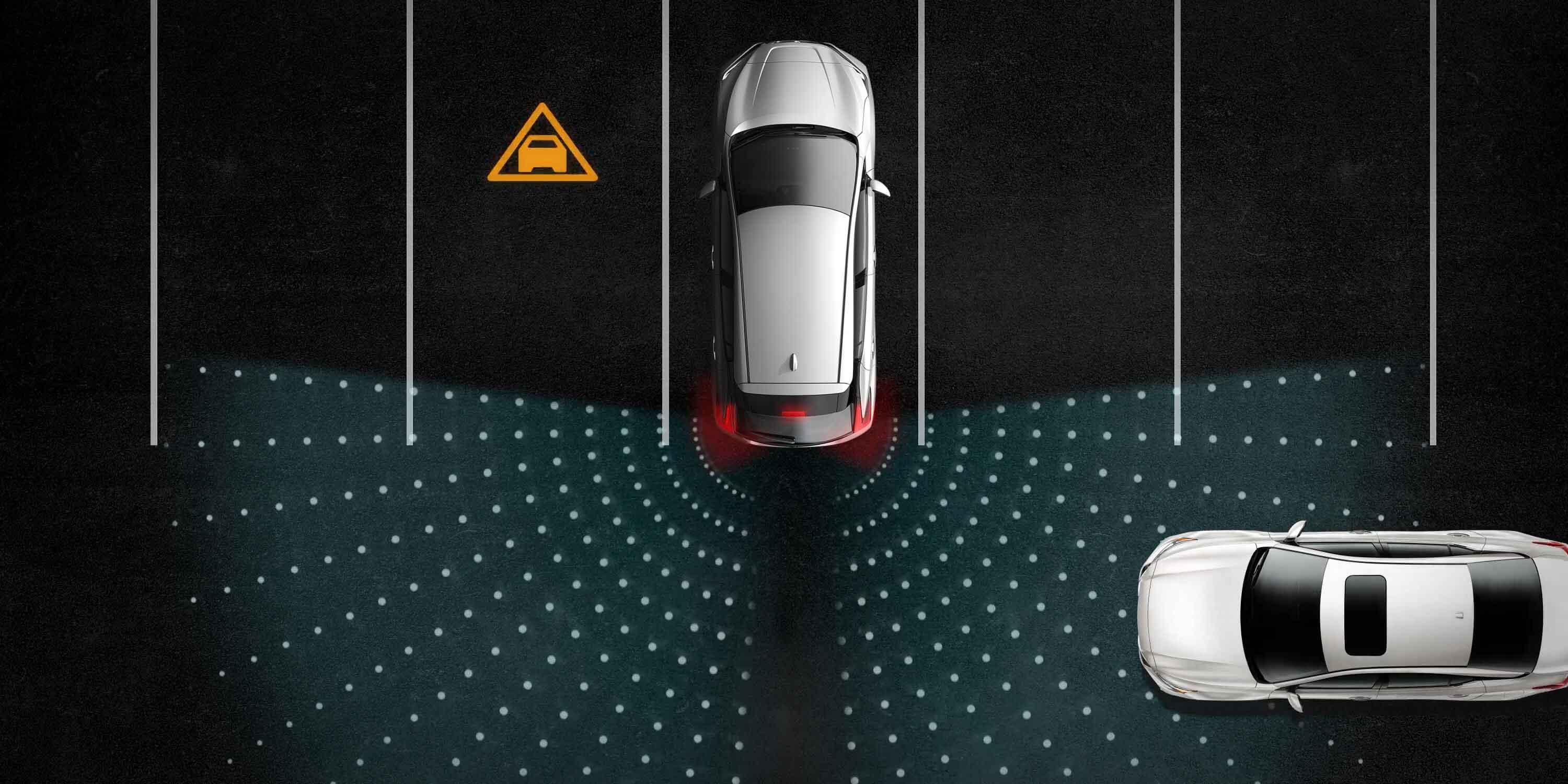 Rear Cross-Traffic Alert Image