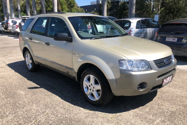 Ford Territory Wagon SY
