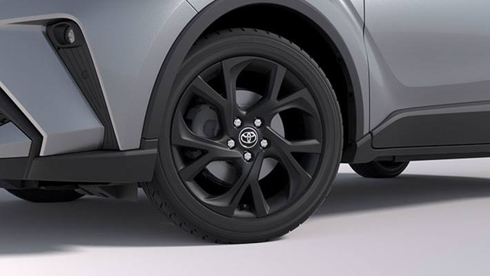 18 inch Alloy Wheels - Dynamic Matte Black