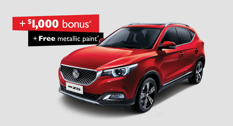 MG ZS 1.5L Excite special