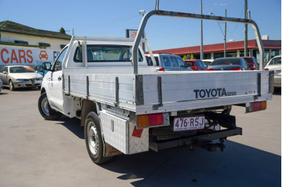 2011 Toyota HiLux TGN16R MY10 Workmate Cab chassis Image 3
