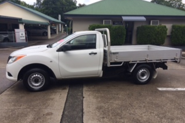 2014 Mazda BT-50 UP0YD1 XT Cab chassis Image 5