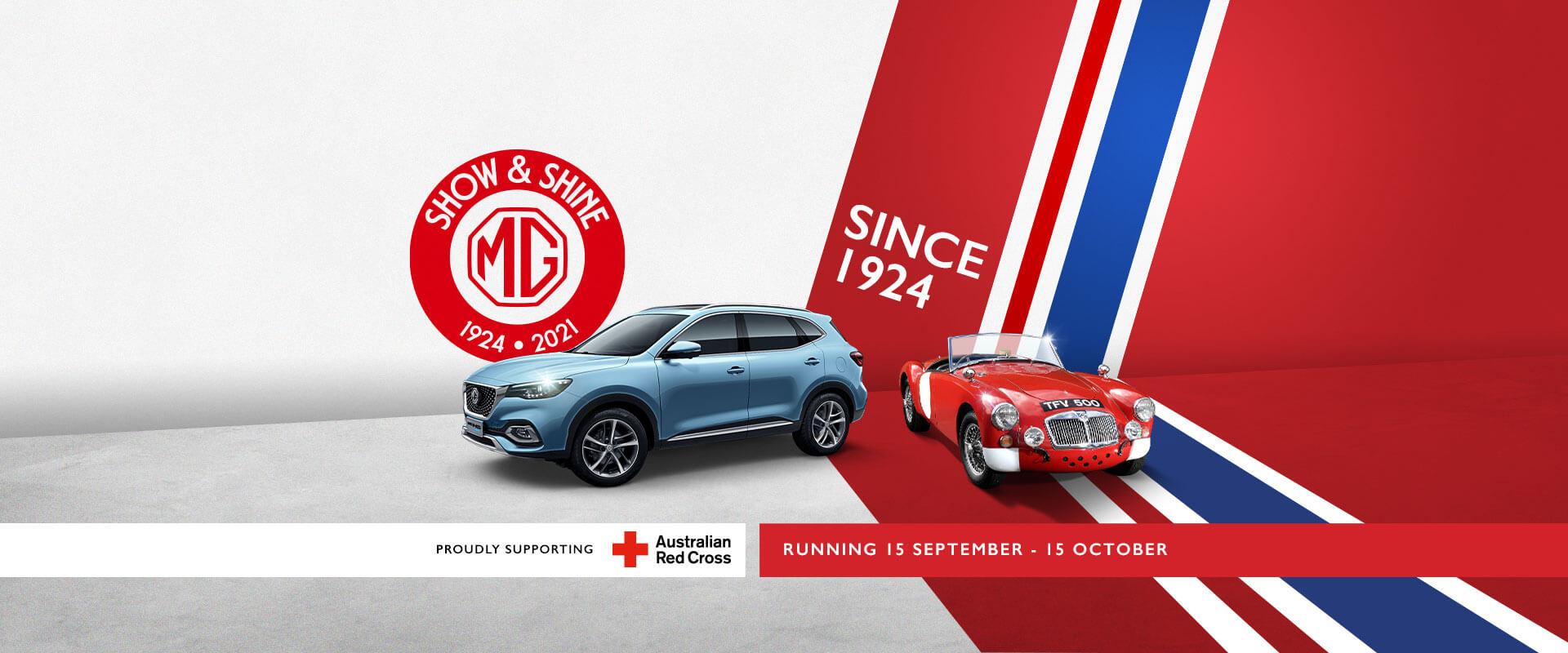 MG Show and Shine 2021. Running 15 September - 15 October