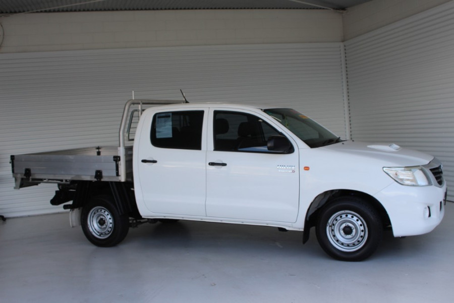 2014 Toyota HiLux KUN16R MY14 SR Crew cab
