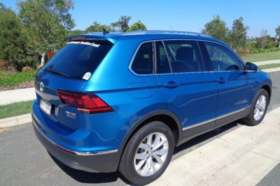Demo 2017 Volkswagen Tiguan V10927 Sunshine Coast Cricks Maroochydore Volkswagen