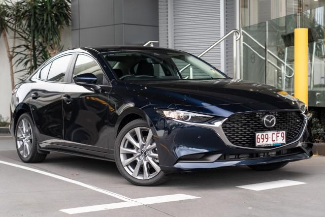 2021 Mazda 3 BP G25 Evolve Sedan Sedan Mobile Image 1