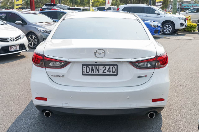 2017 Mazda 6 GJ1022 Touring Sedan Sedan Image 4