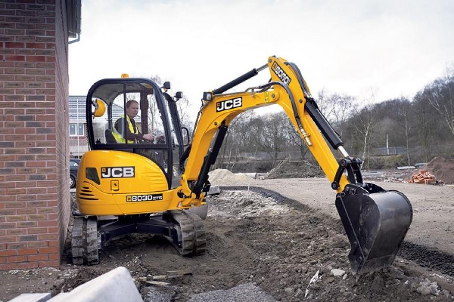 2021 JCB 8030 ZTS Mini Excavator (No Series)