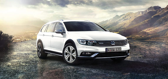 Passat Alltrack Always looks the part