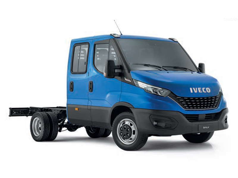 Daily 70C Dual Cab Chassis