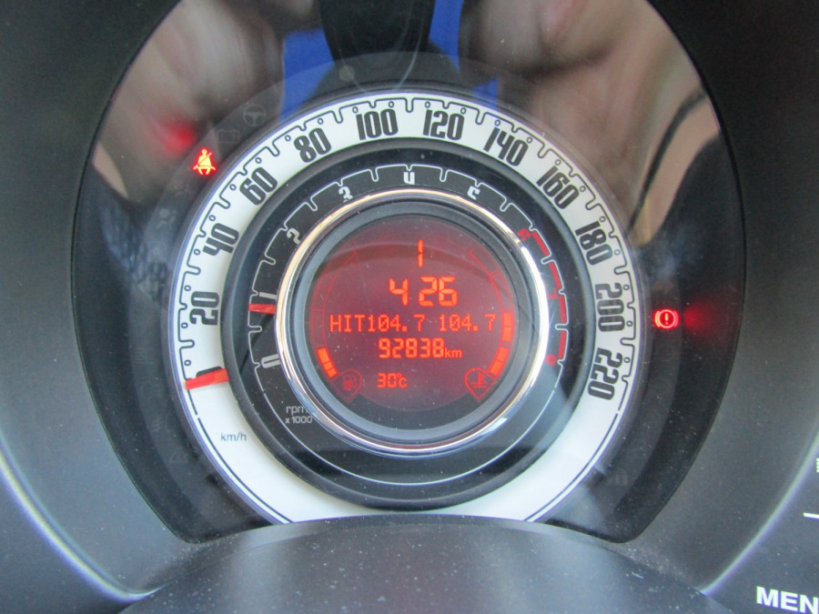 2008 Fiat 500 Series 1 Pop Hatch Image 21