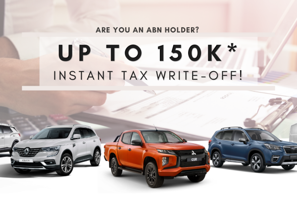 UP TO $150k INSTANT TAX WRITE-OFF*!