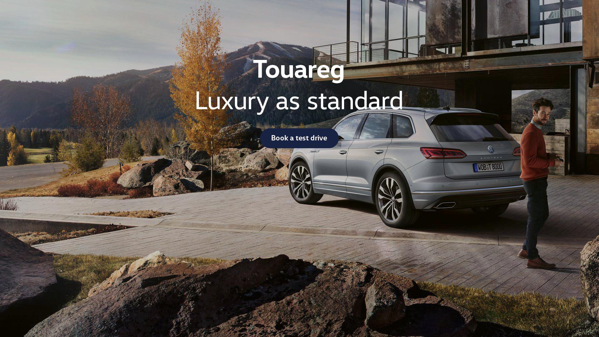 Nothing drives like the Touareg
